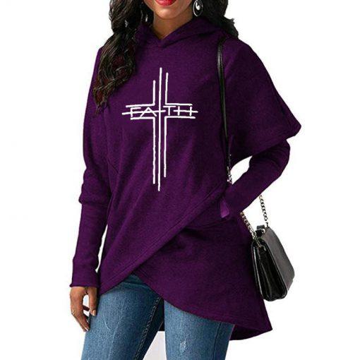 Faith Cross Hoodie