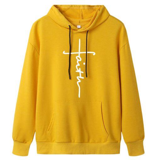 Faith Sweatshirt With Hoodie